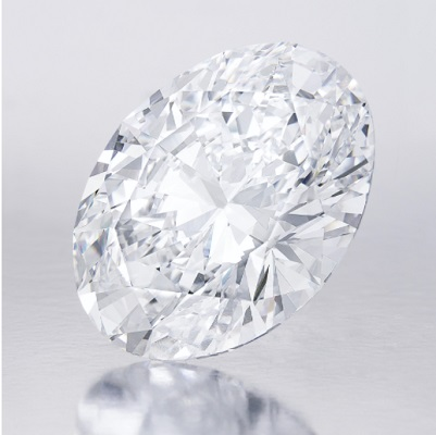 118 28 Carat D Color Flawless Oval Shaped Diamond 1