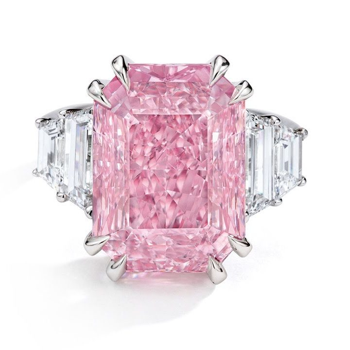 Sotheby's Hong Kong Auction Results In Magnificent Sale Of A Pink Diamond