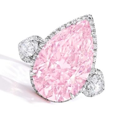 Sotheby's Successfully Sells The Fancy Pink Diamond At Its New York Important Jewels Auction